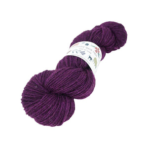 Gathered Sheep Yarns - Jacob DK - 100g - Plum Pudding