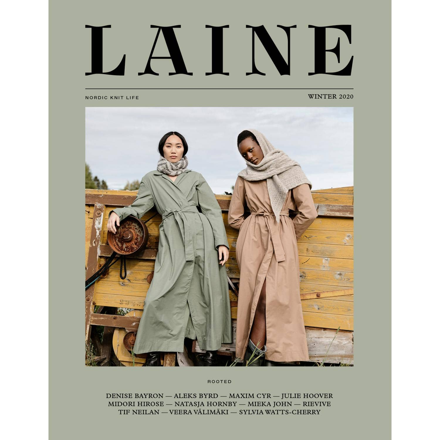 Laine Magazine - Issue 10 Front Cover | Yarn Worx