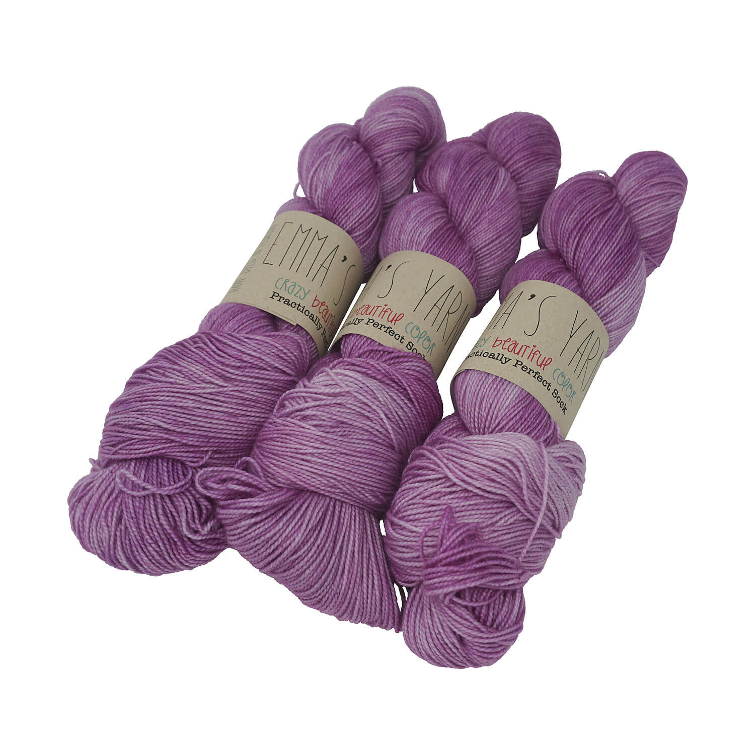 Emma's Yarn - Practically Perfect Sock - 100g - Lilac You Alot