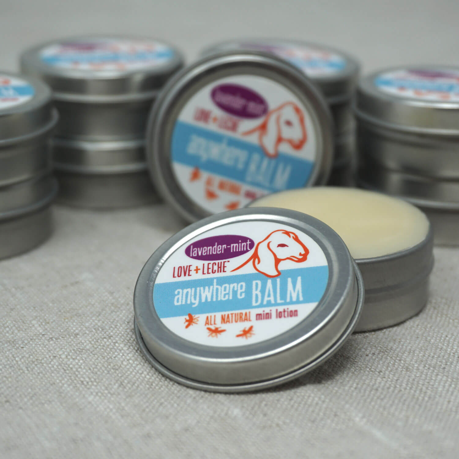 Love + Leche Anywhere Balm Mini Lotion Bar - Lavender & Mint | Yarn Worx