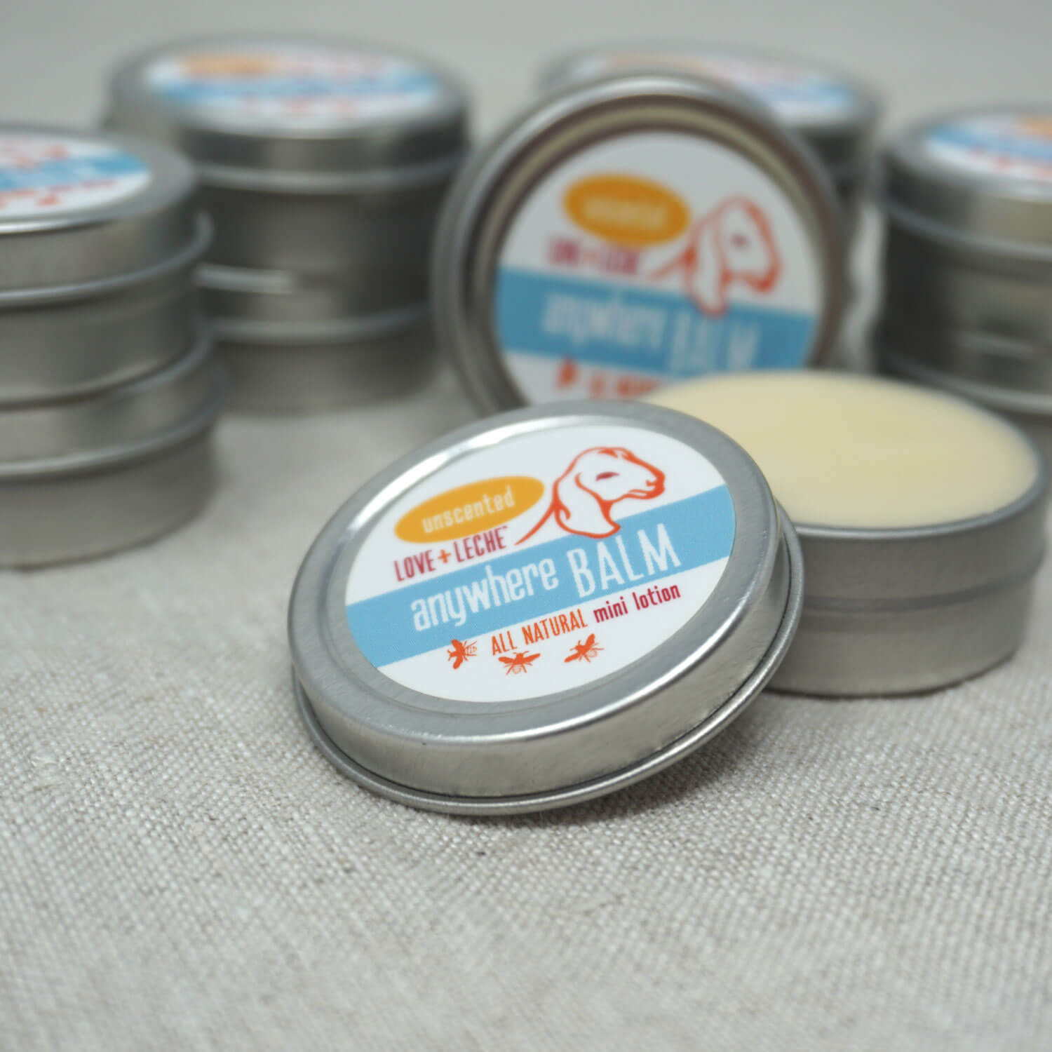 Love + Leche Anywhere Balm Mini Lotion Bar - Unscented | Yarn Worx