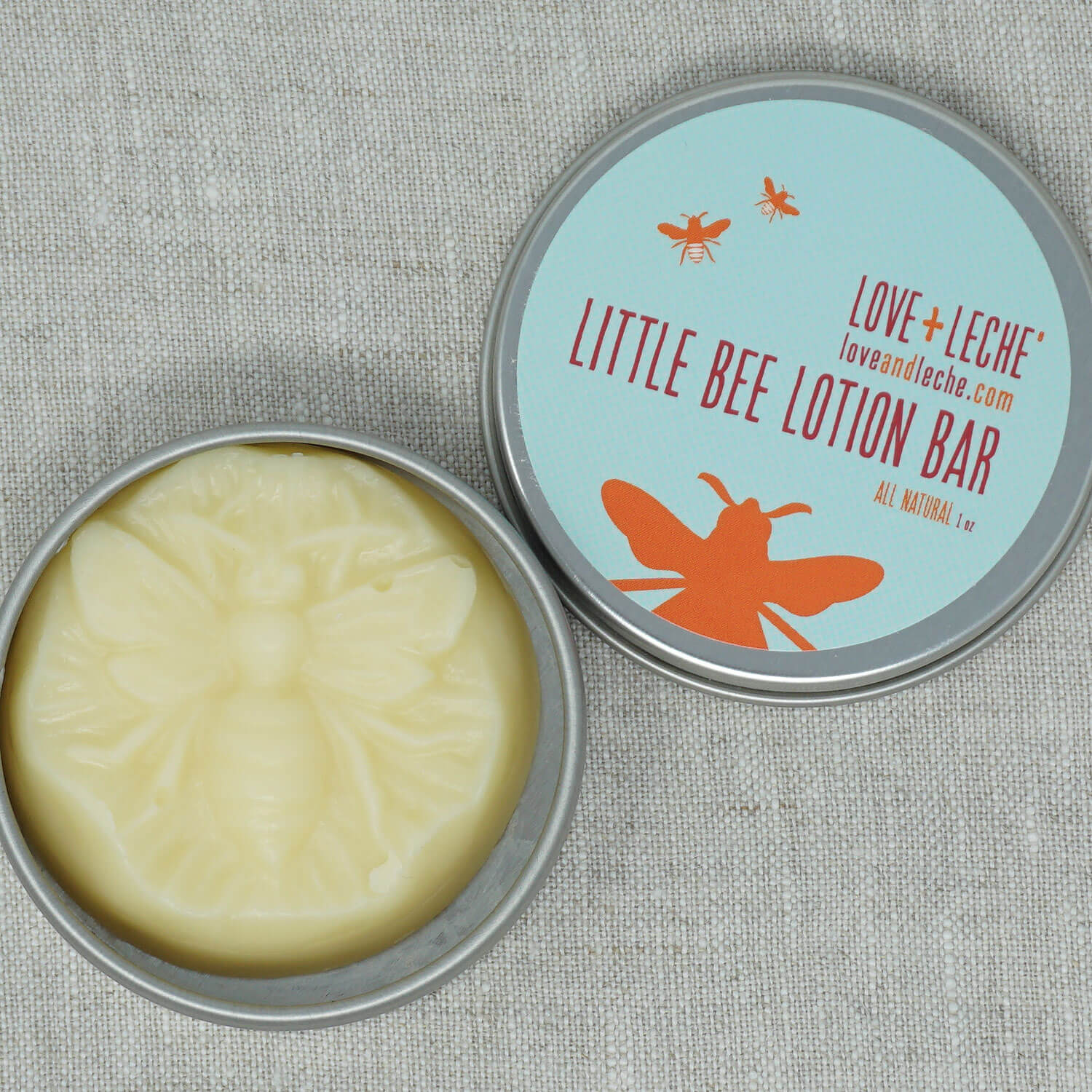 Love + Leche Little Bee Lotion Bar - Natural | Yarn Worx