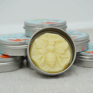 Love + Leche Little Bee Lotion Bar - Lavender & Rosemary collage | Yarn Worx