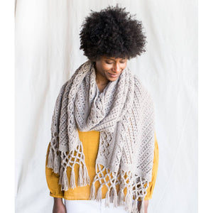 Making Magazine - No 10 - INTRICATE - Apollo Shawl by Julie Robinson