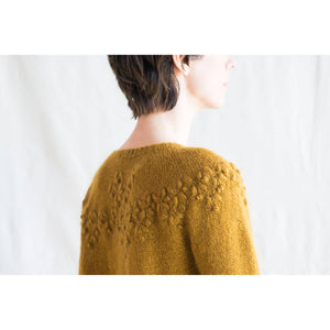 Making Magazine - No 10 - INTRICATE - Asterales Pullover by Paula Pereira
