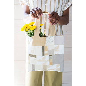 Making Magazine - No 10 - INTRICATE - Autumn Patch Tote by Paula Bouffard