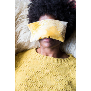 Making Magazine - No 10 - INTRICATE - Good Vibrations Eye Pillow by Kristine Vejar