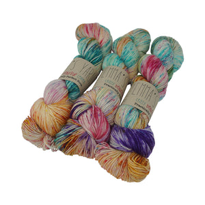 Emma's Yarn - Practically Perfect Sock - 100g - Mexican Wedding Dress