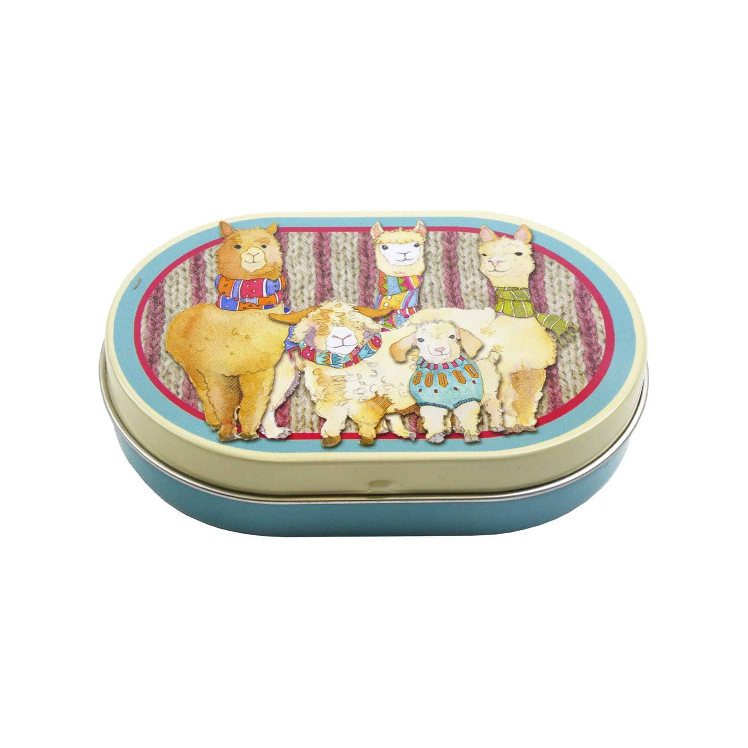 Emma Ball - Other Woollies Mini Hinged Oval Tin | Yarn Worx