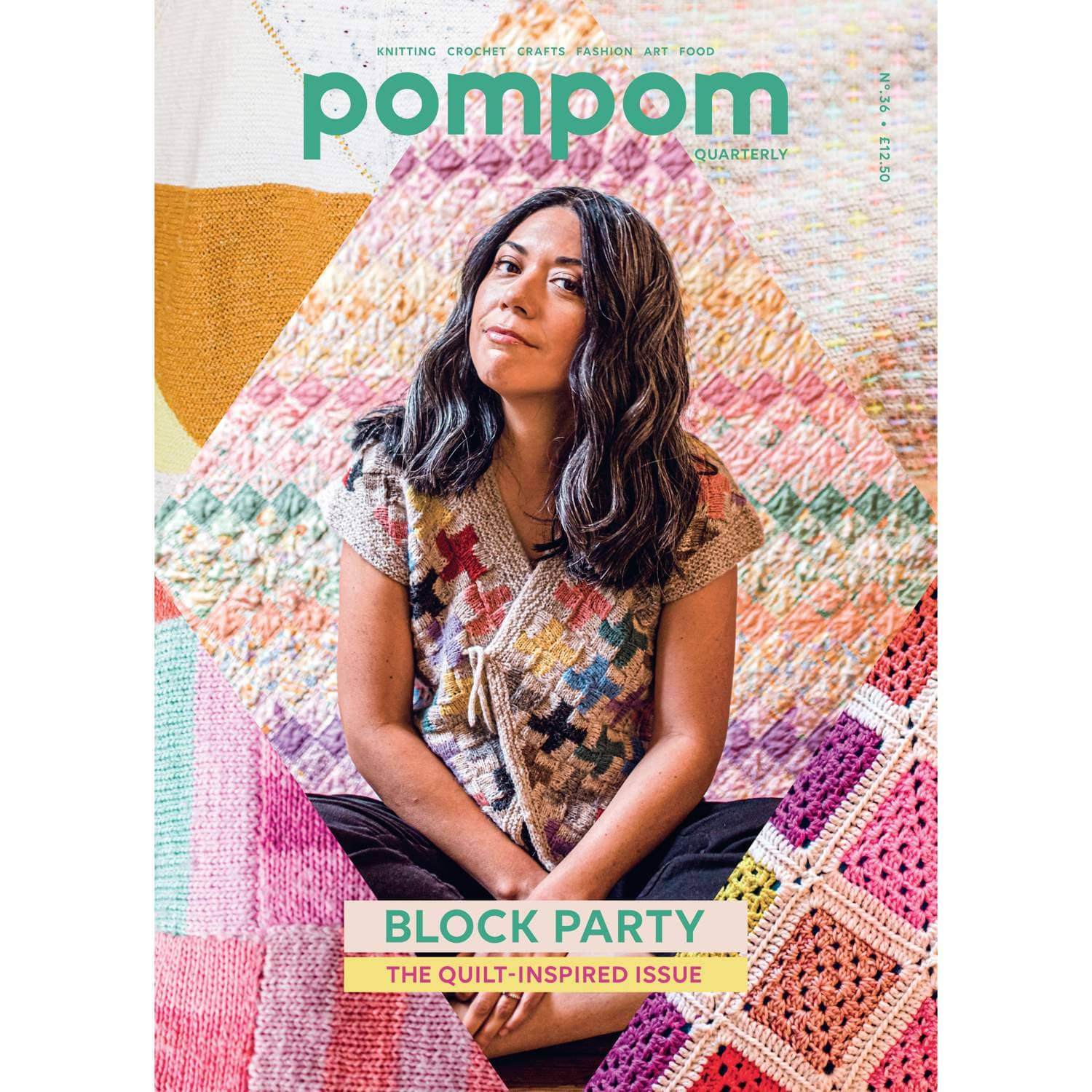 Pom Pom Quarterly Magazine - Issue 36 - Spring 2021 | Yarn Worx