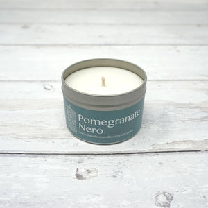 White Candle Company 100g Tin - Pomegranate Nero | Yarn Worx