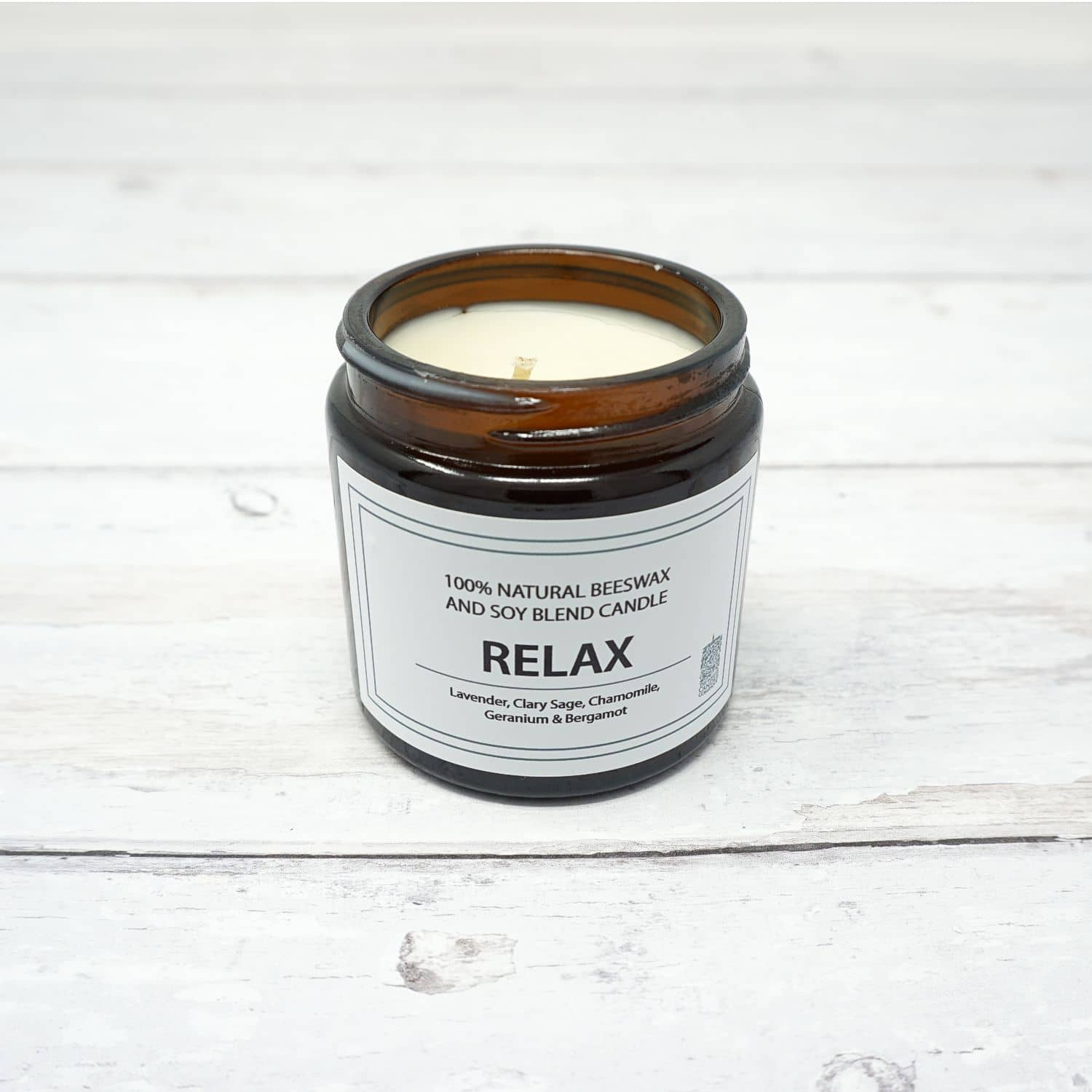 White Candle Company PURE 120g Jar - Relax | Yarn Worx