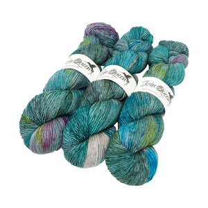 Skein Queen - Wriggle Merino Singles - 100g - Narwhal