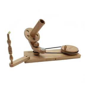 Scheepjes Table Wool Winder - Natural Beechwood Finish | Yarn Worx