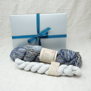 Sock Knitters Delight Gift 1 (Emma's Yarn Sock 1 x 100g & 1 x 20g) | It's Casual with Jackie O | Yarn Worx