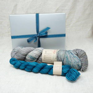 Sock Knitters Delight Gift 1 (Emma's Yarn Sock 1 x 100g & 1 x 20g) | Stolen Dances with Tealicious | Yarn Worx