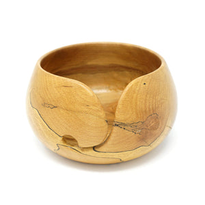 Spalted Beech Wood Yarn Bowl