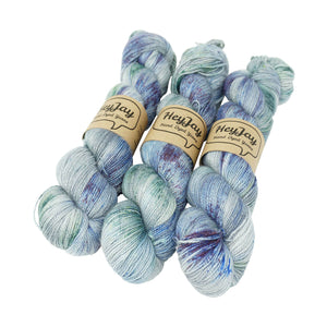 HeyJay Yarns - Sparkle Sock Yarn - 100g - Gravel Pit