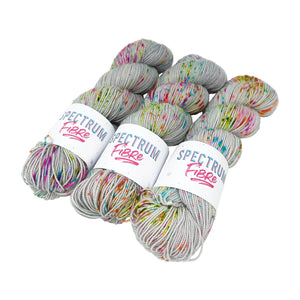 Spectrum Fibre - Twisted Sock - 100g - Mercury