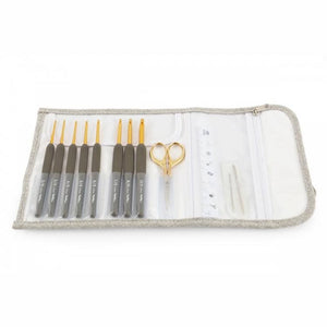 Tulip Etimo Crochet Hook Set- Premium Gold | Yarn Worx
