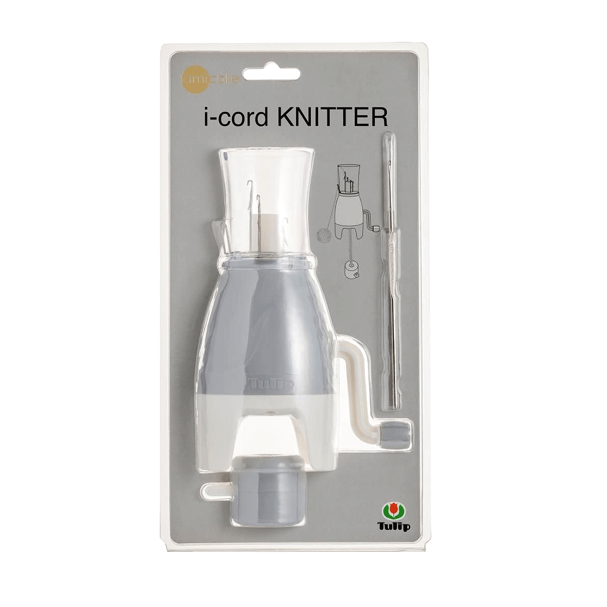 Tulip i-cord Knitter shown in it's packaging