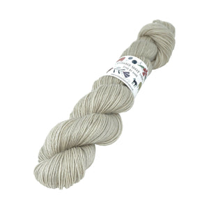 Gathered Sheep Yarns - Wensleydale & Teeswater Light DK - 100g - Silver Birch