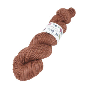 Gathered Sheep Yarns - Wensleydale & Teeswater Light DK - 100g - Tawny Owl