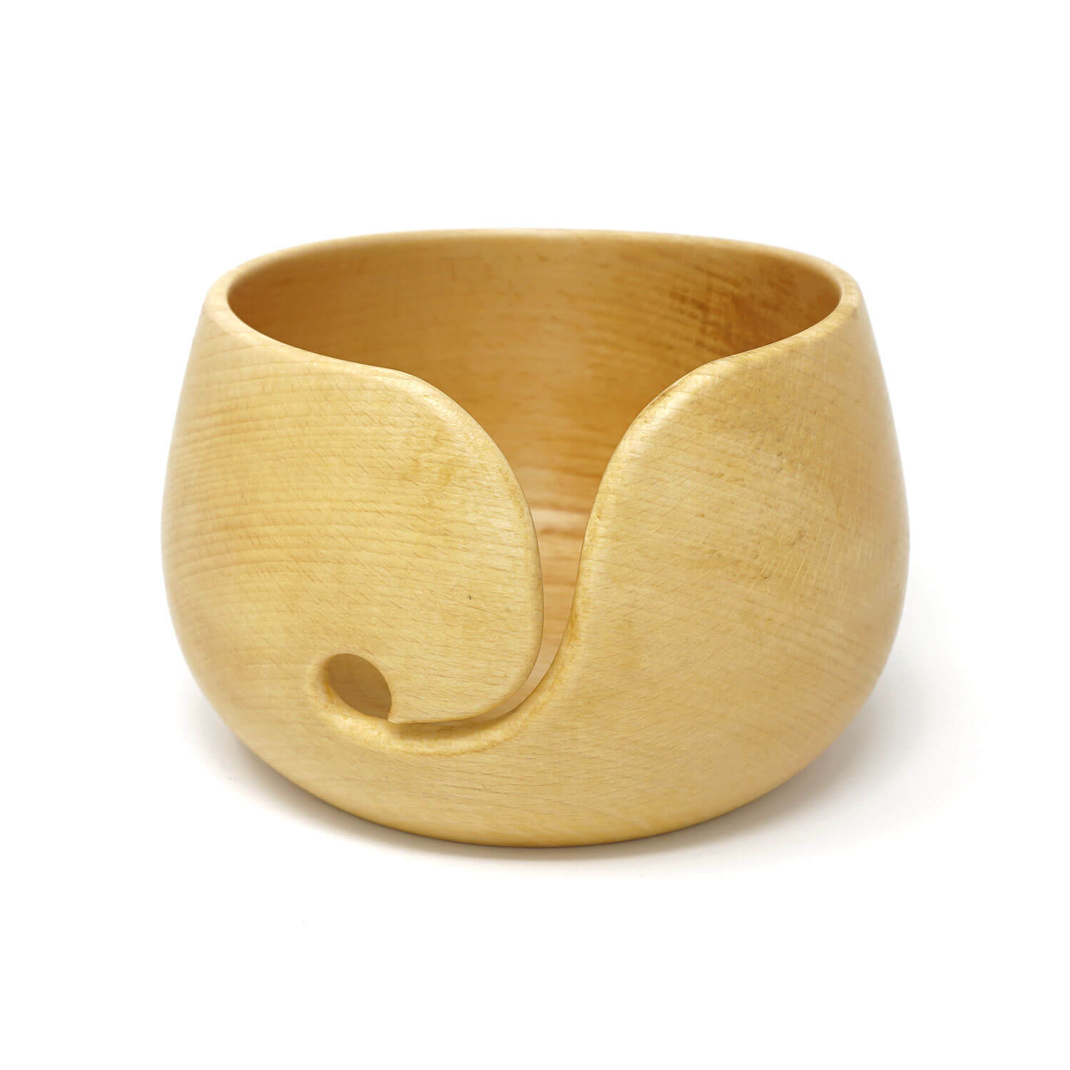 Beech Wood Yarn Bowl | Yarn Worx