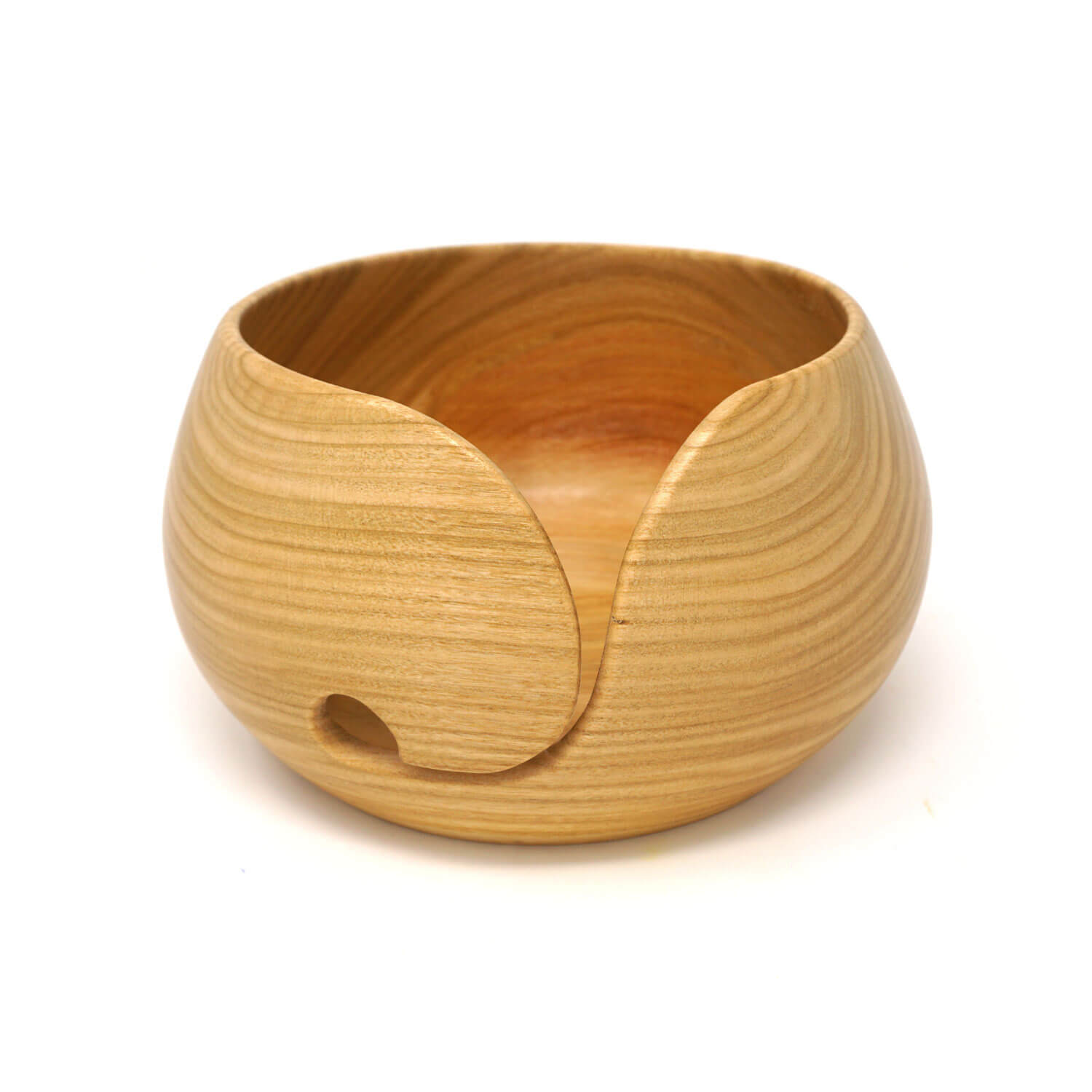 Cherry Wood Yarn Bowl | Yarn Worx