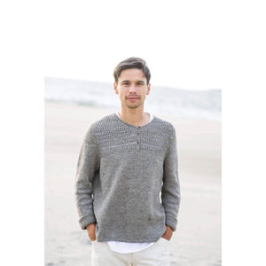 Making Magazine - No 9 - Simple man wearing knitted jumper | Yarn Worx