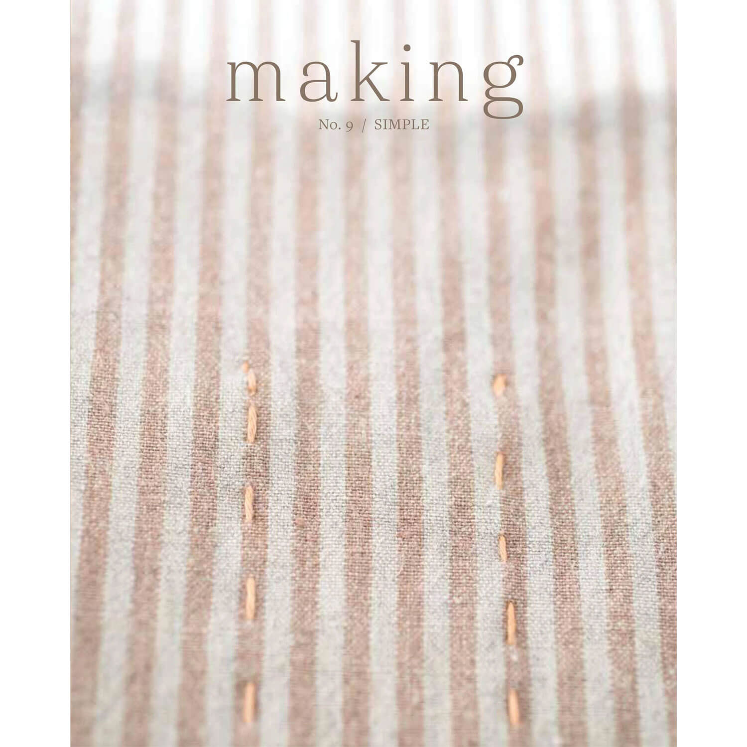Making Magazine - No 9 - Simple front cover | Yarn Worx
