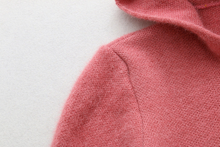 Women's Casual Zip up Hoodies Long Fleece Fashion Knit Sweater Coat with Pockets