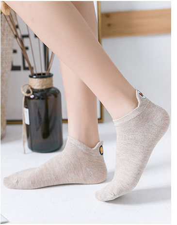 Women Comfort Stretch Performance Ankle Summer Cotton Socks - 3 Pack