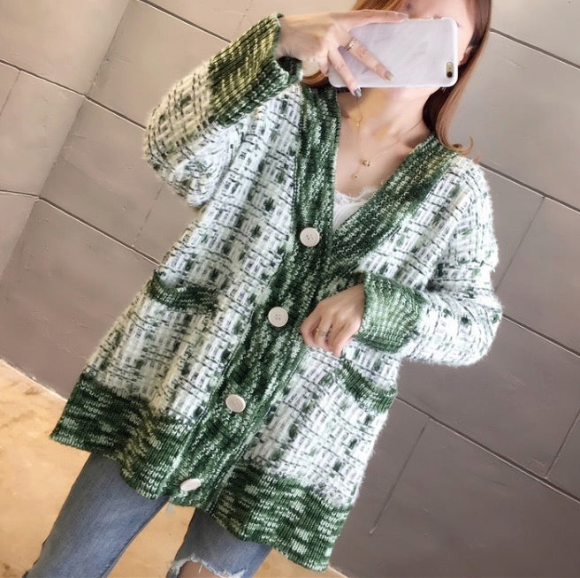 Women's Knit Button Down Cardigans Long Sleeve Sweaters Outwear Coats Tops
