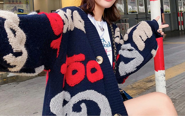 Women's Knit Button Cable Cardigans Long Sleeve Sweaters Outwear Coats Tops