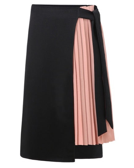 Women Asymmetric Wrap Skirt