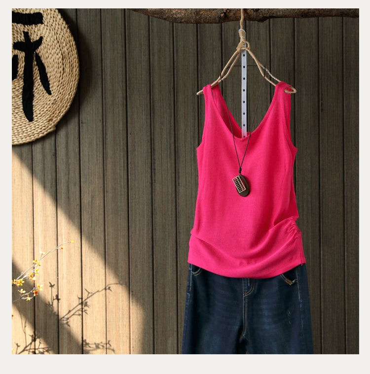 Women Cotton Active Tank Tops