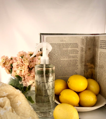 Organic Lemon Myrtle Disinfectant Surface Spray