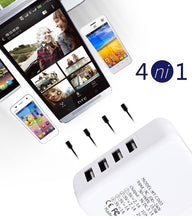 Load image into Gallery viewer, Wall USB Charger Adapter