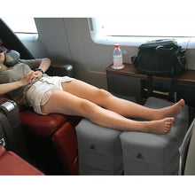 Load image into Gallery viewer, Inflatable Travel Footrest