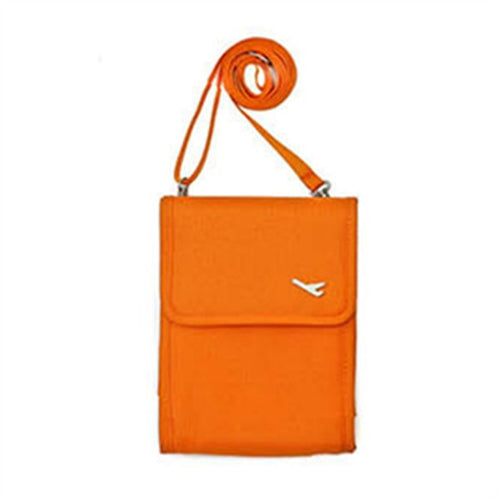 Multifunction Canvas Neck Wallet