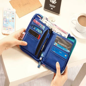 Cute Nylon Waterproof Travel Passport Cover