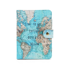 Load image into Gallery viewer, Flamingo Map Passport Cover