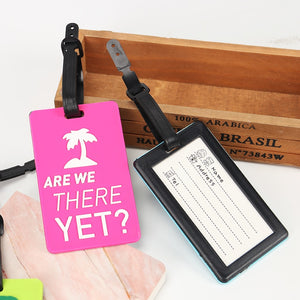 Environmental Luggage Tag