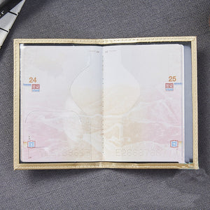 Casual PU Leather Passport Cover
