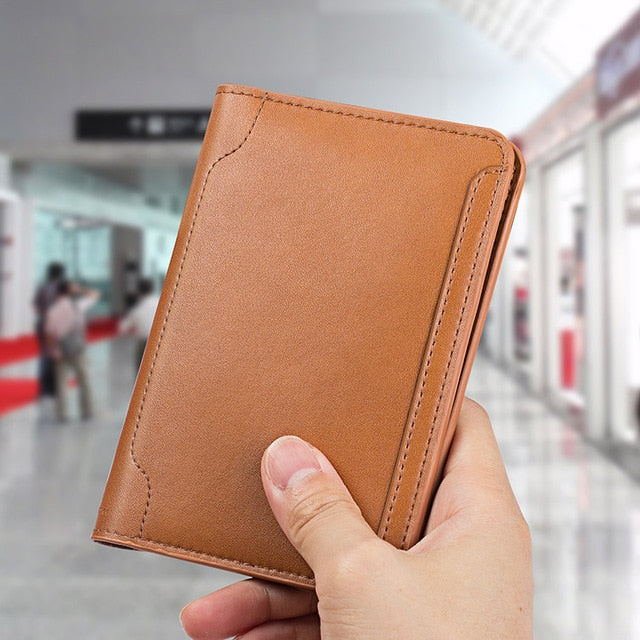 High Quality Genuine Leather Passport Holder