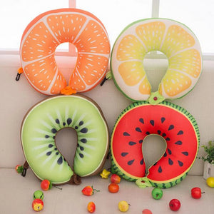 Fruit U Shaped Travel Neck Pillow