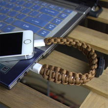 Load image into Gallery viewer, Micro USB Braiding Bracelet Charger