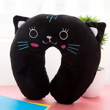 Load image into Gallery viewer, Cartoon U-Shaped Travel Pillow