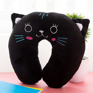Cartoon U-Shaped Travel Pillow